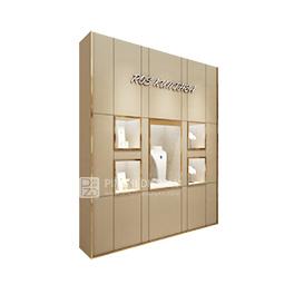 High-end custom wall-mounted jewelry display cabinet