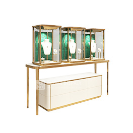 2021 new high-end glass window display cabinet
