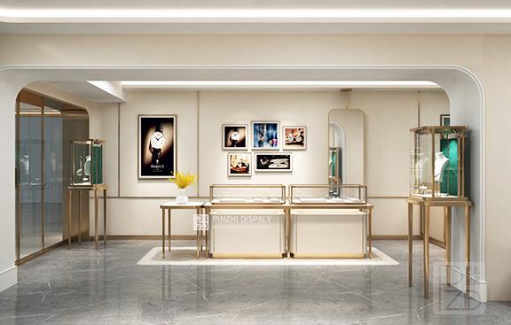 Luxury Jewelry Store Display Design
