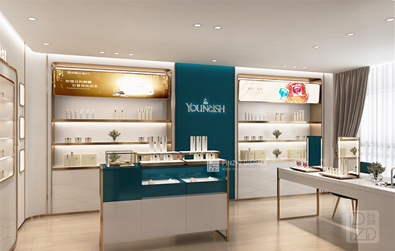 High End Luxury Cosmetic Store Design