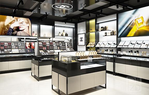 Luxury High End Make-up Display Showcase
