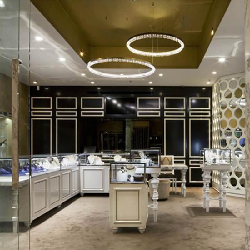 Retail jewelry store design ideas   Guangzhou Pinzhi Display ...