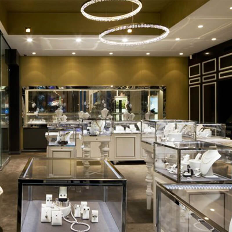 Jewelry Retail Shop Design Ideas