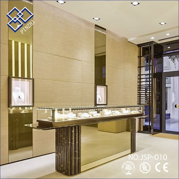 Best Jewelry Store Interior Design With Showcase Guangzhou Pinzhi Display Manufacturer