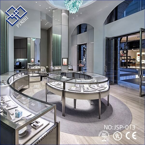 Retail jewelry store design ideas | Guangzhou Pinzhi Display ...