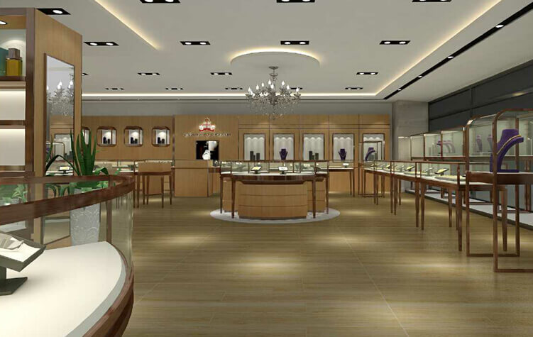 New Style Jewellery Showroom Design In Australia Guangzhou