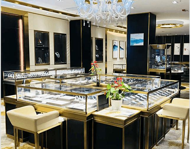 Pinzhi Jewellery shop design
