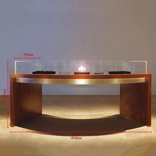 watch showcase counter