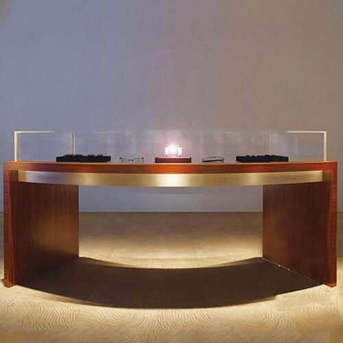 watch display showcase counter