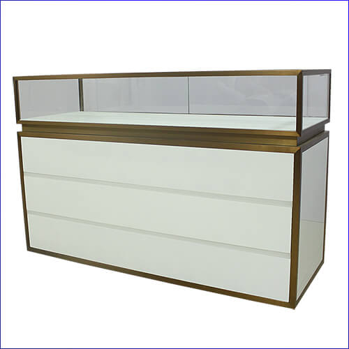 White Jewellery Display Cabinet