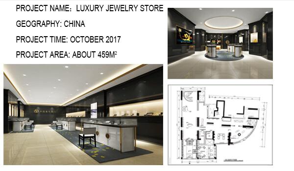 Best Jewelry Store Interior Design With Showcase Guangzhou Pinzhi