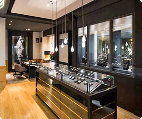High End Watch Shop Interior Design