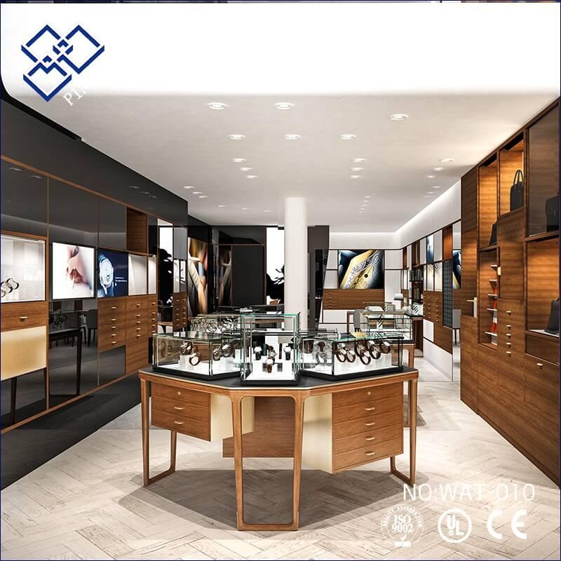 watch showroom interior design