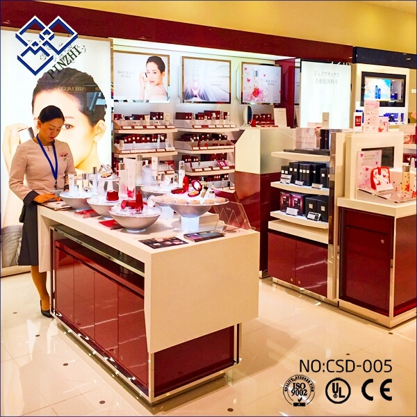 cosmetic shop decoration