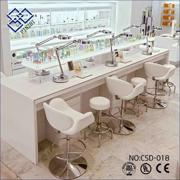 cosmetic shop design ideas