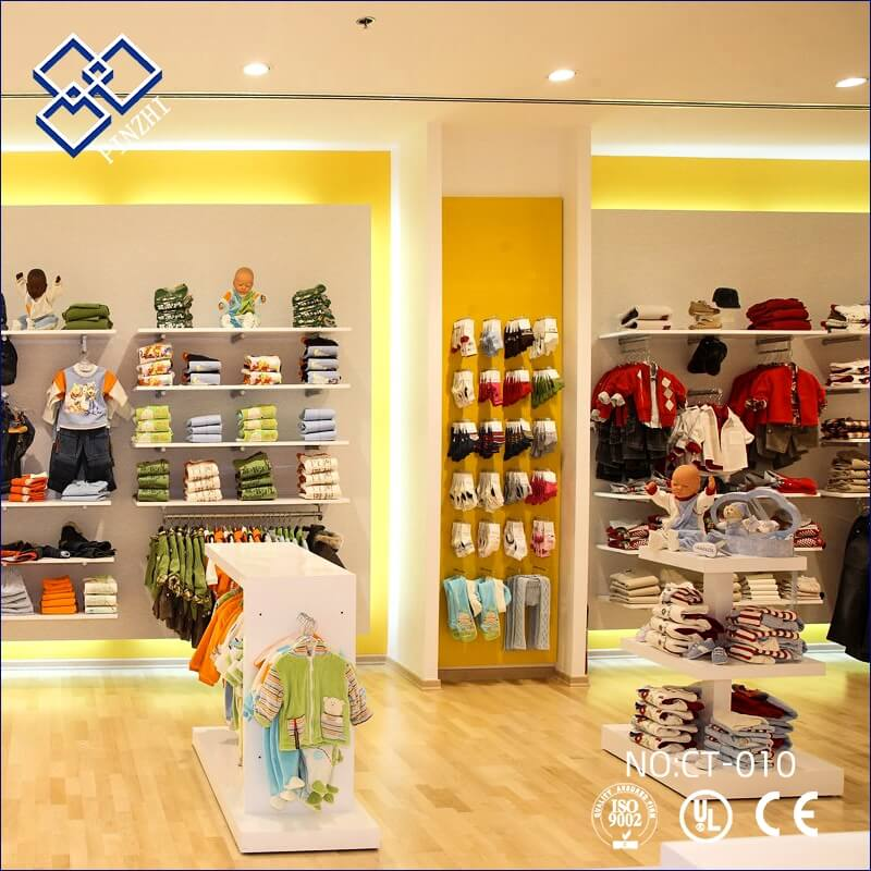 children clothes shop design