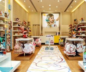 children clothes shop design