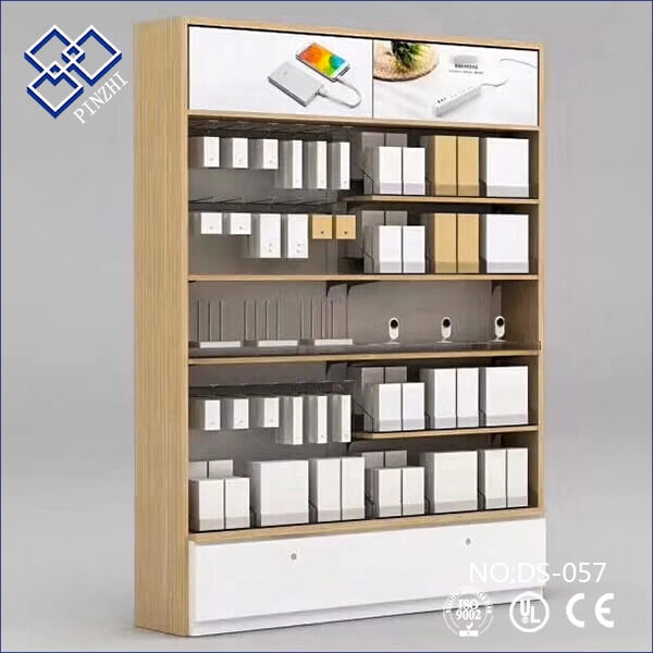phone accessories display cabinet