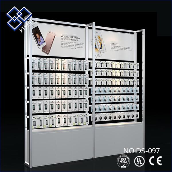 cellphone case display rack