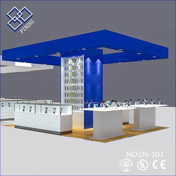 cell phone kiosk design