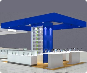 cell phone kiosk design