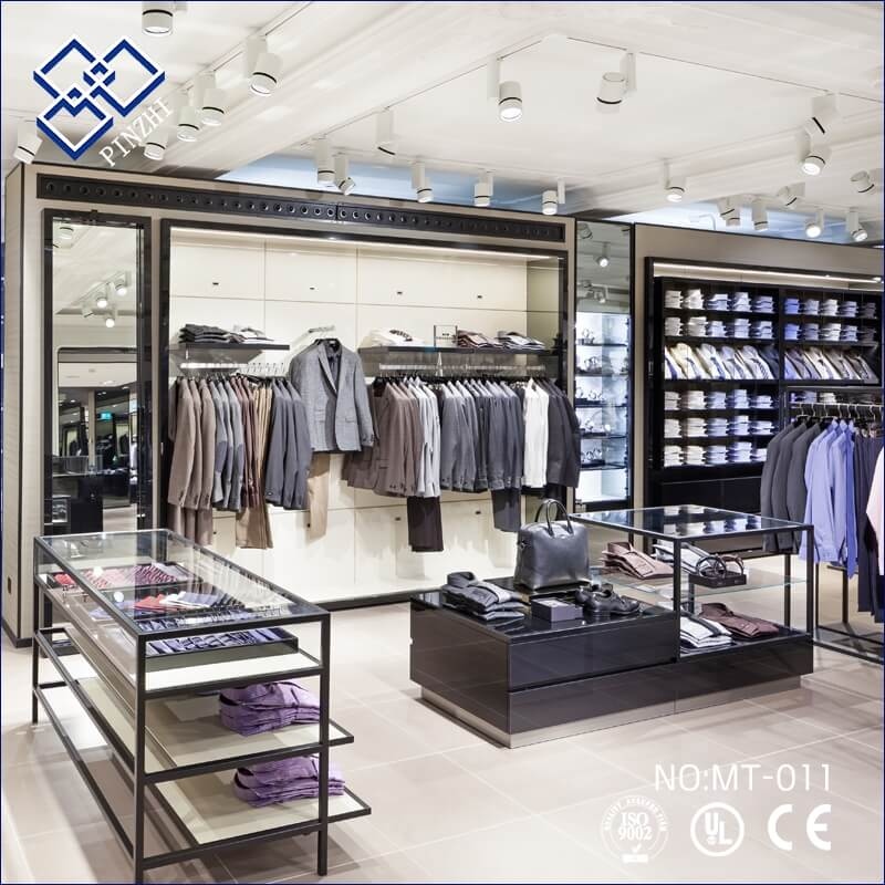 Shop Interior Design: Man Clothes Shop Interior Design