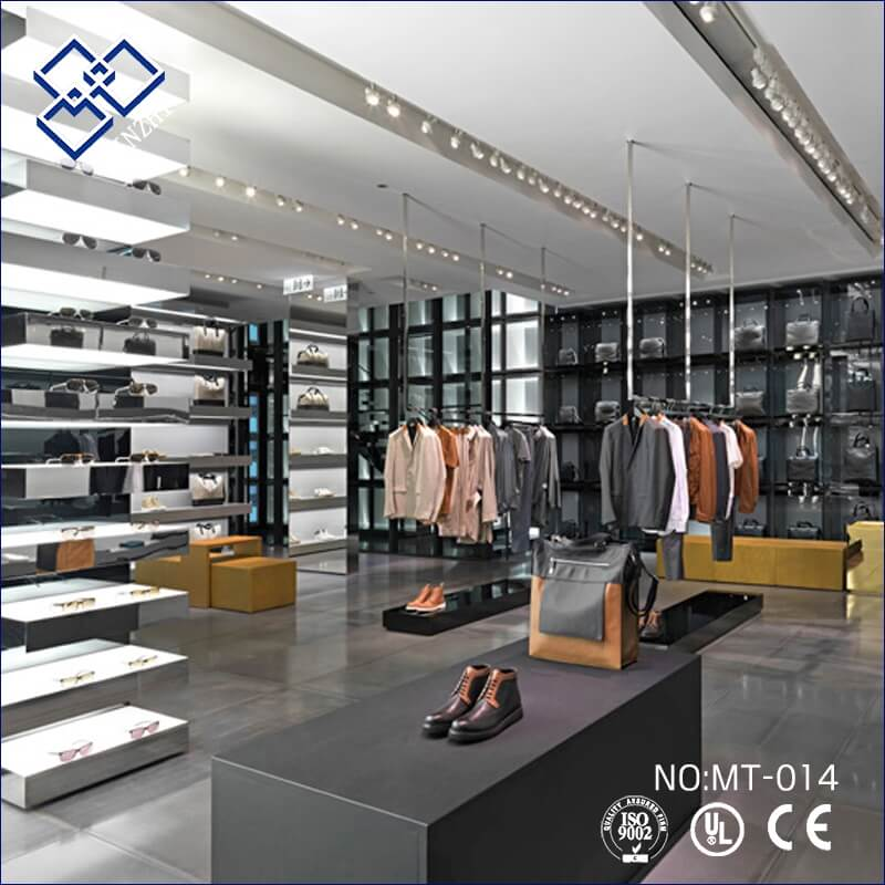 clothing showroom design