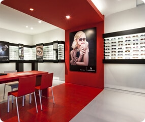 optical shop interior design