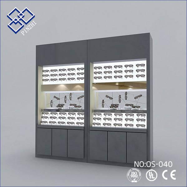 sunglasses display cabinet