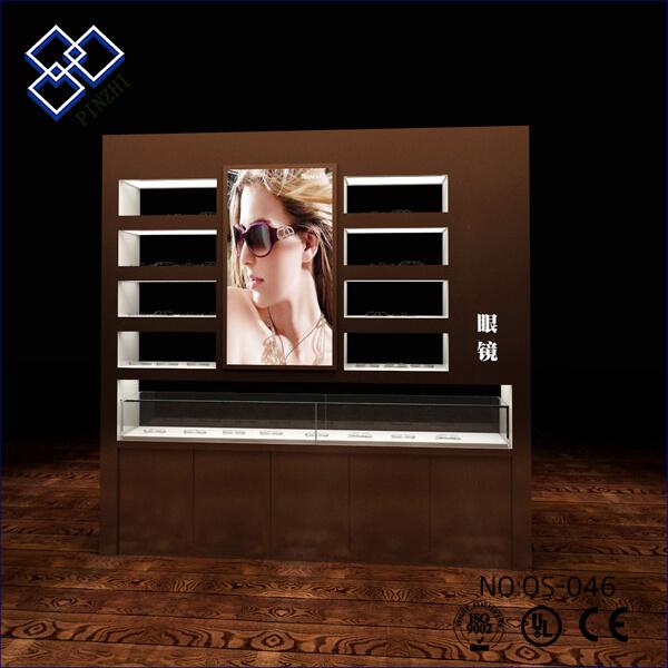 optical display showcase
