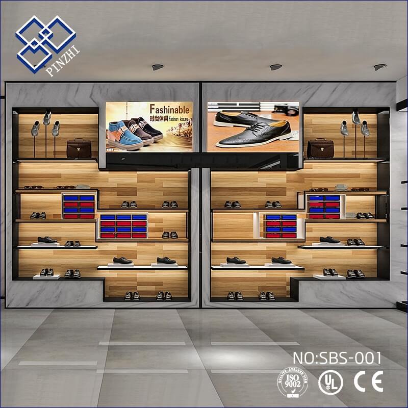 shoes display shelves