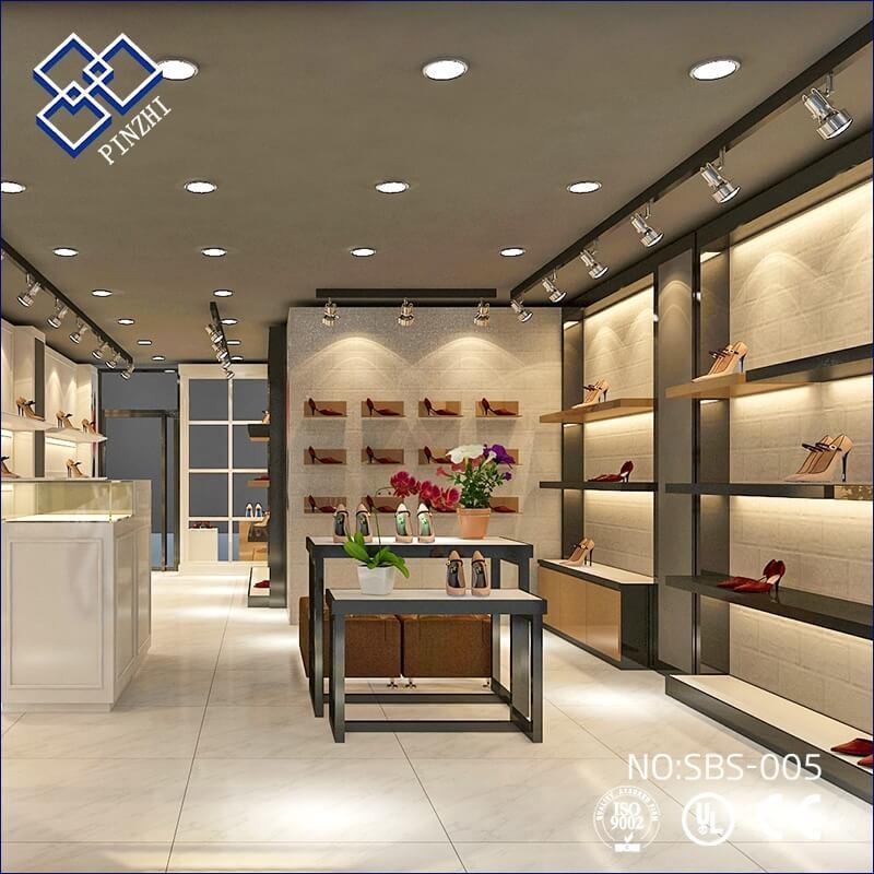 shoes wall shelves