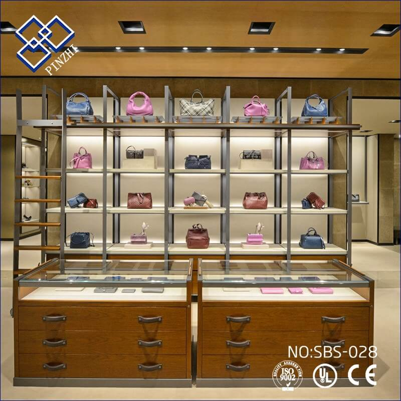 handbag display cabinet