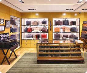 bags shop design