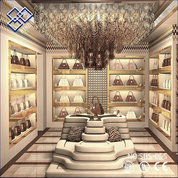 Handbags Shop Display Ideas For Interior Design Guangzhou Pinzhi