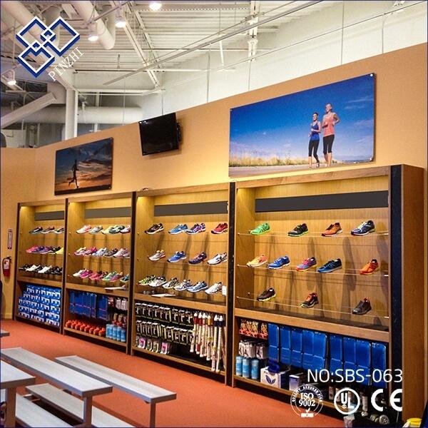 shoes shop decoration