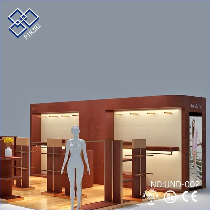 underwear shop interior decoration
