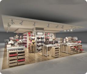 clothing shop design