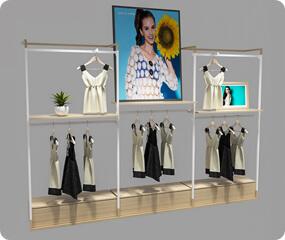 clothes wall shelf unit