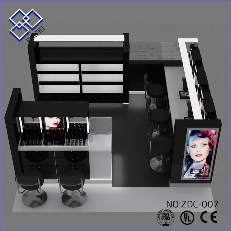 cosmetic display kiosk
