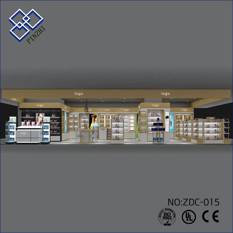 makeup shop design