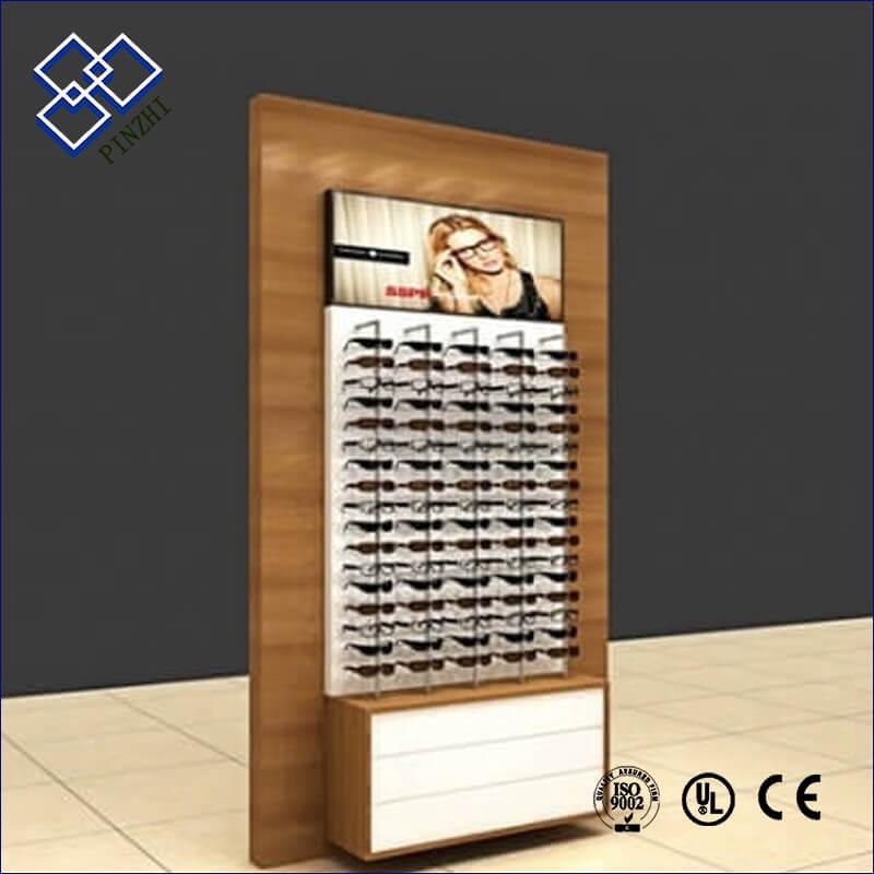 eyewear display wall