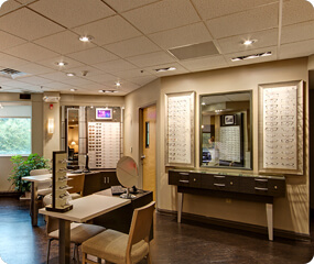 Small Optical Store Interior Design Ideas