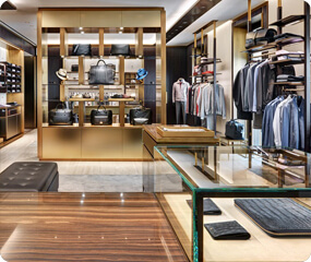 menswear clothes shop