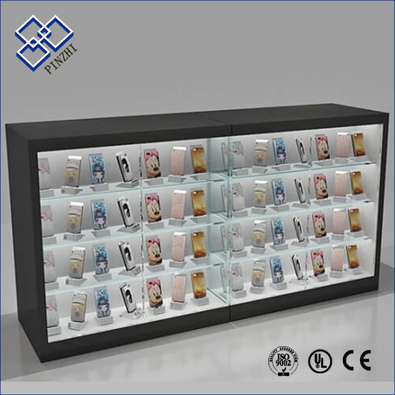 Cell phone display fixtures