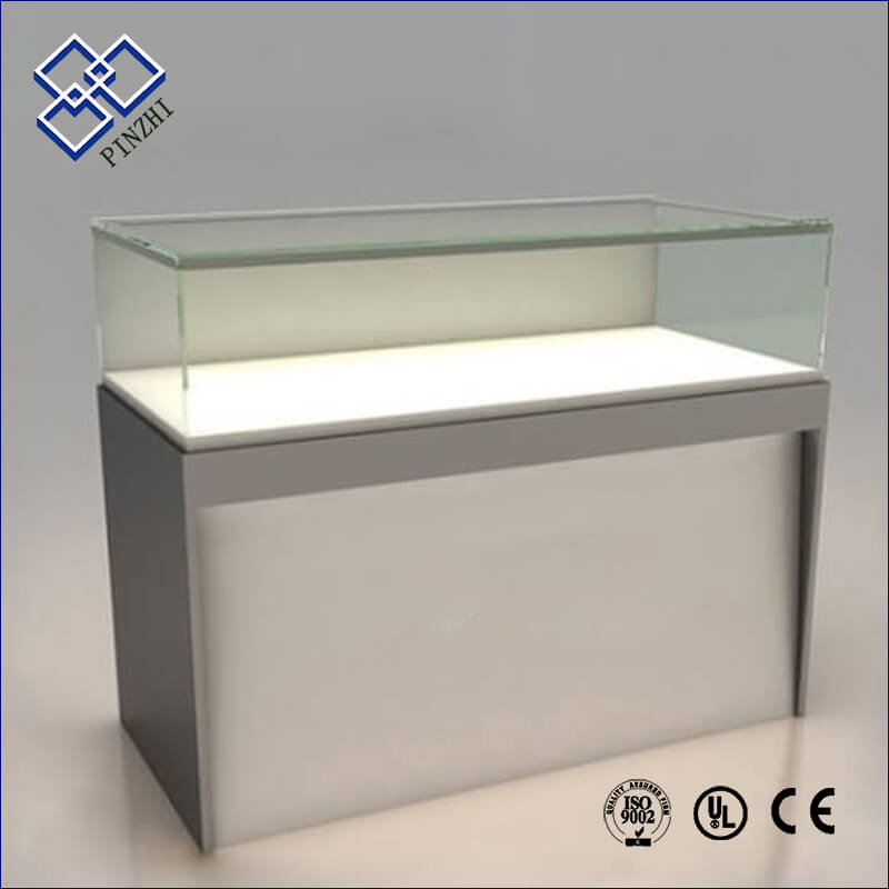 Glass display cabinets for cell phone