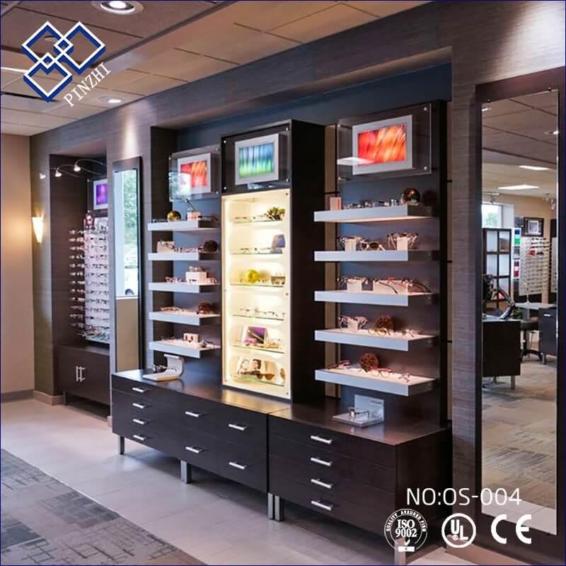 small optical shop design
