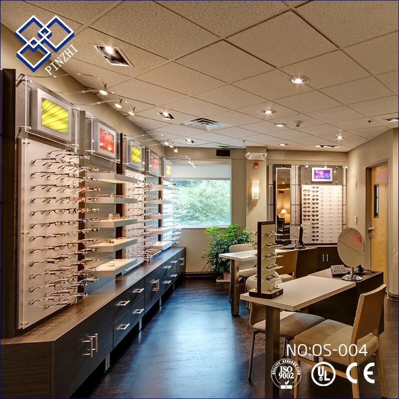 Small optical store interior design ideas | Guangzhou Pinzhi ...