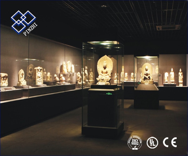 museum exhibition display cases