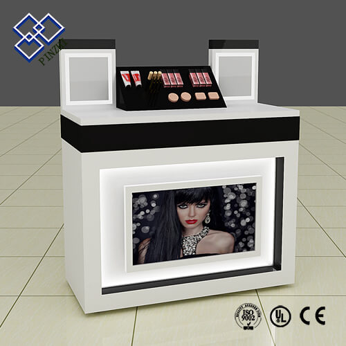 cosmetic display counter